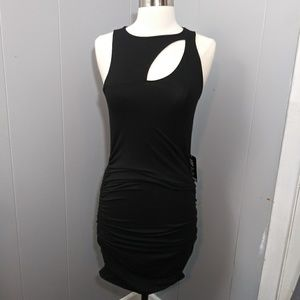 NWT! Little Black Dress with Chest Cutout Express